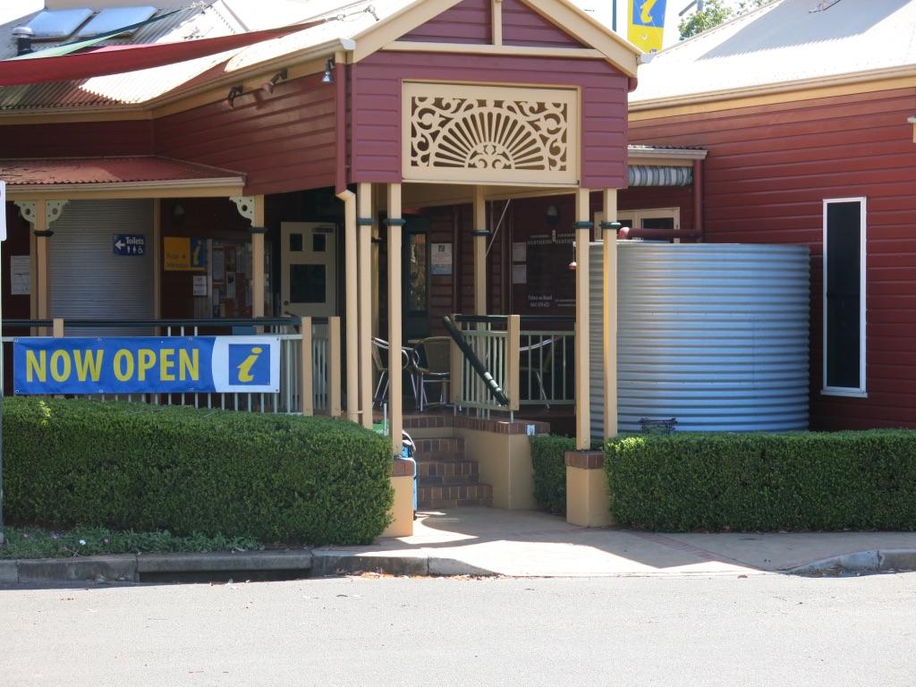 Information centre 650metres