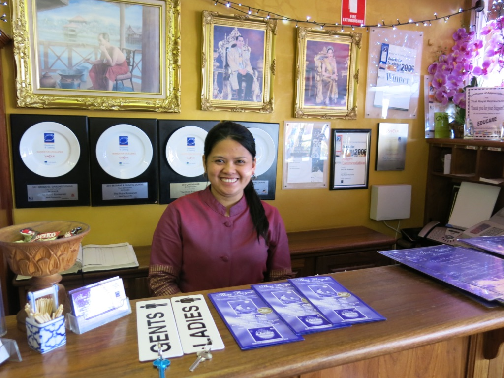 thai royal:quality BYO RESTAURANT and take-away. Part of southtown shopping centre:iga, post office, news agaent 1.6km