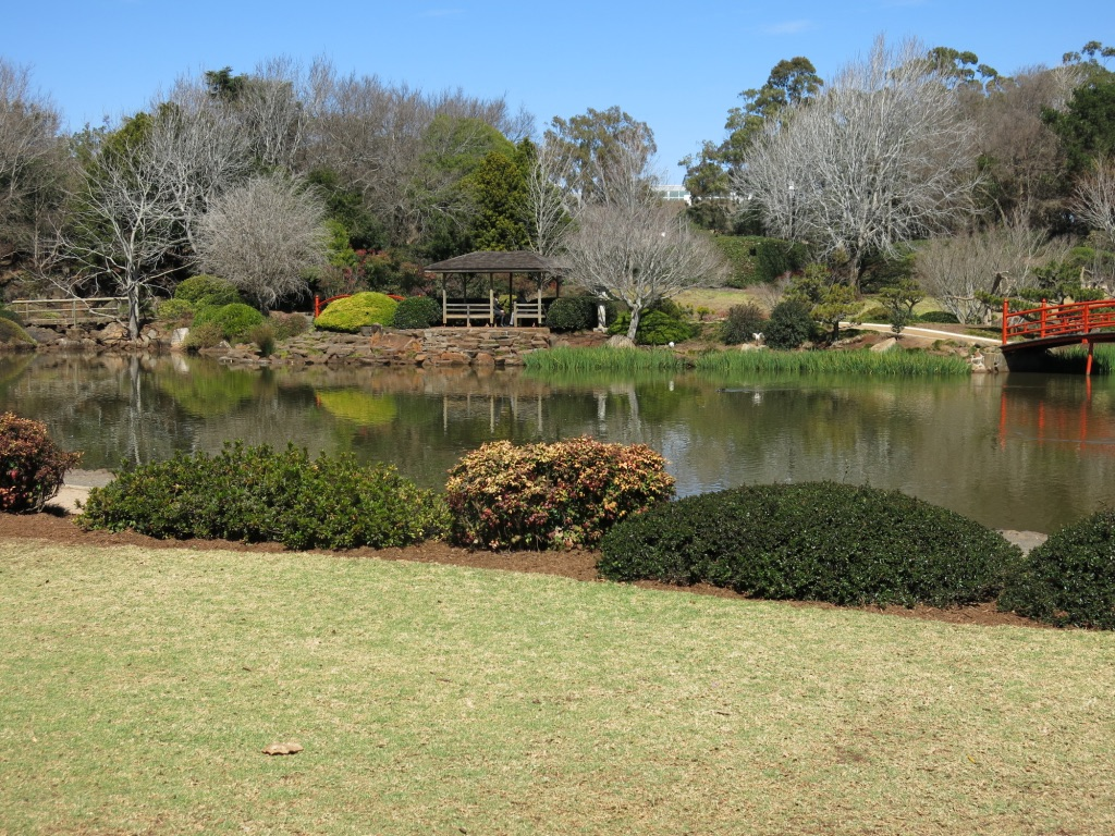 Japanese Gardens: a tranquil beautiful place to stroll or picnic