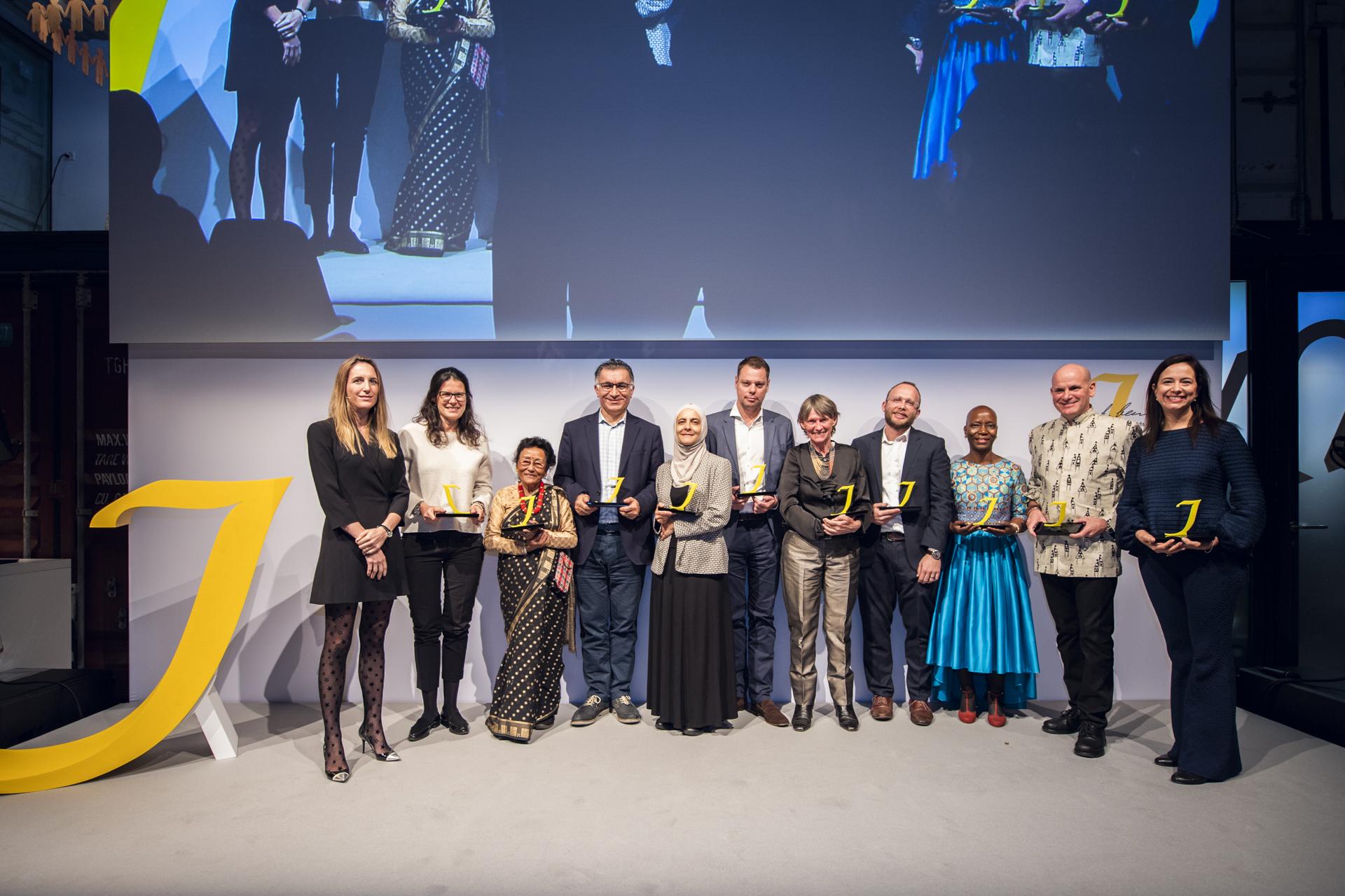 2018 Klaus J Jacobs Award Winners