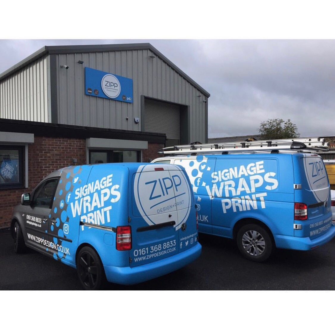 Vehicle Wrapping and Design Service - Our in house design team are fully experienced in designing graphics for any vehicle from one off cars to a fleets of vans. With over 40 years experience in designing, our team is dedicated in providing you with a vehicle design to suit your brand image.