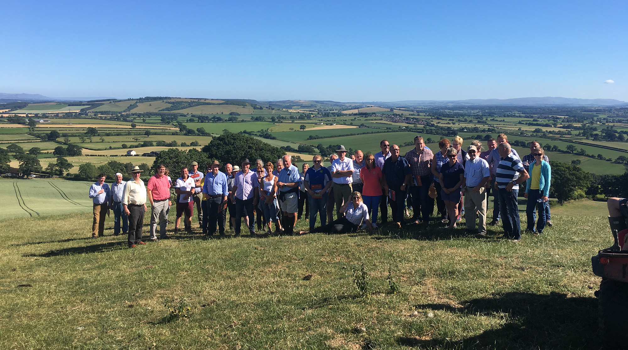 Members of the Beef Shorthorn Cattle Society attending the inaugural Members Roadshow
