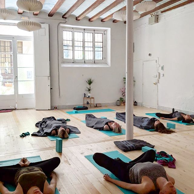 Tuesdays, we have classes all day, from Vinyasa to Ashtanga to Rocket. Come say hello! 💞🌈🧘🏽♀️