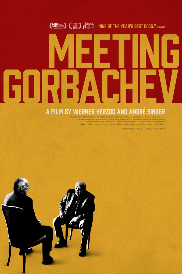 Meeting Gorbachev's poster