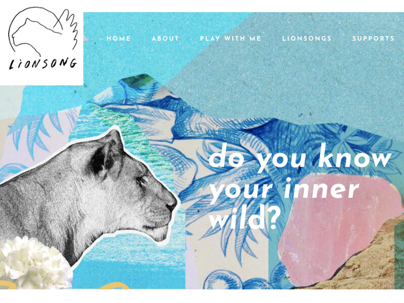 Lionsong Process - Branding, Website for a creative therapist in Portland, Oregon.