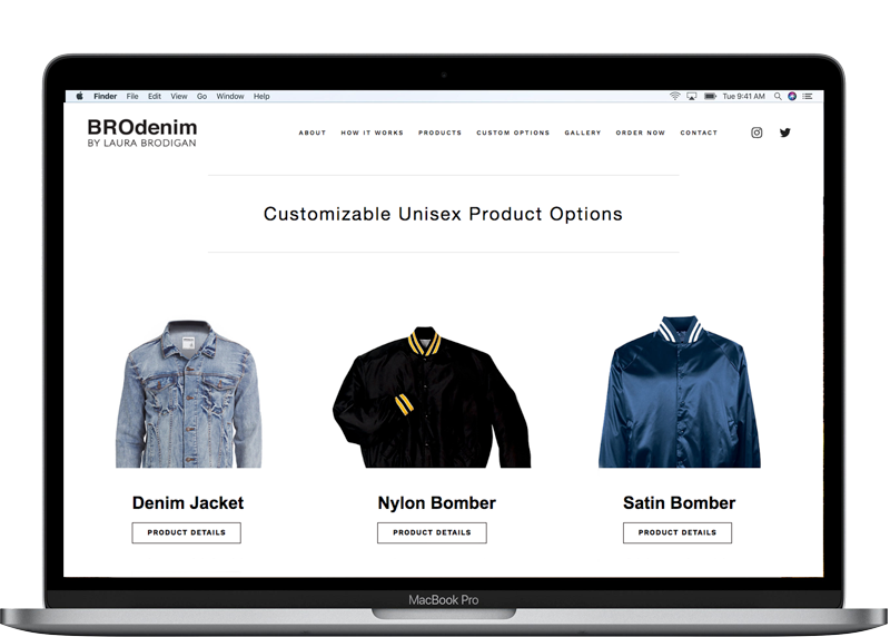1. Pick A Product - Browse all of our unisex apparel options and pick the product you'd like to customize.