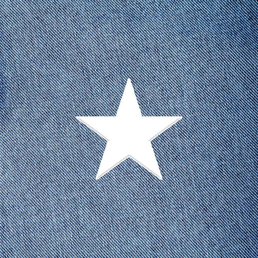 Large Star Patch - $4