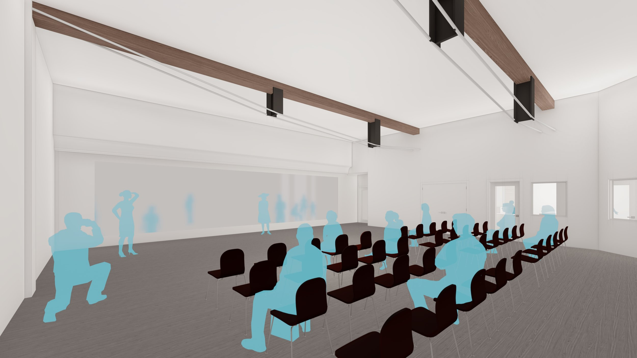 White Box Media Theater -