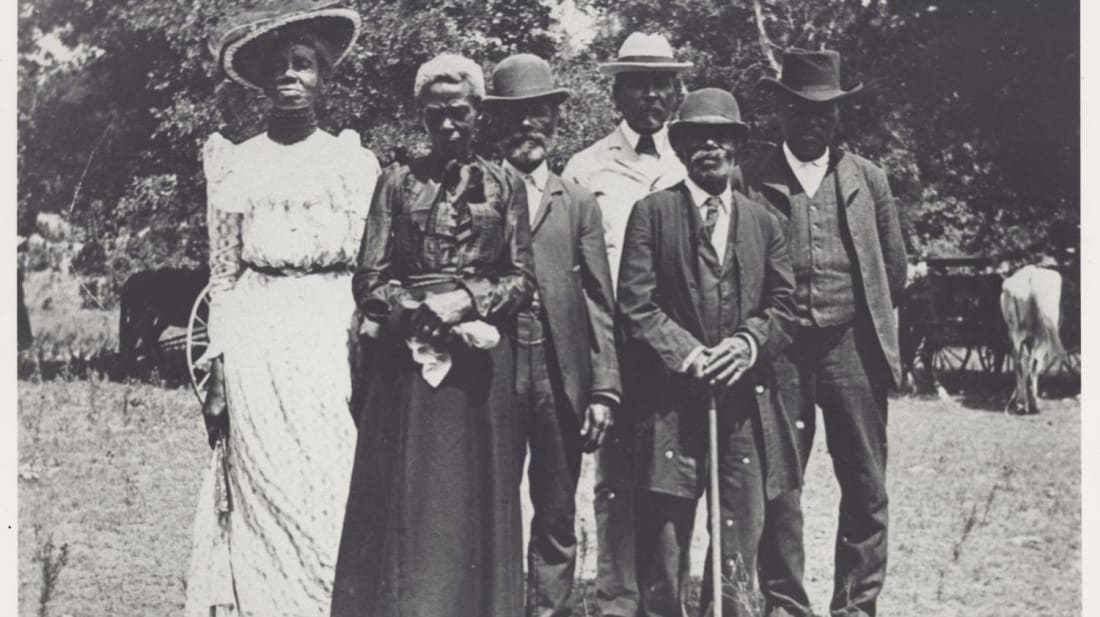 Grace Murray Stephenson and family, Juneteenth Emancipation Day Celebration, June 19, 1900. (Source: NMAAHC)