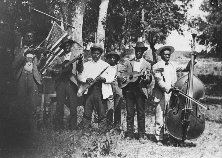 Juneteenth Emancipation Day Celebration, June 19, 1900. (Source: NMAAHC)