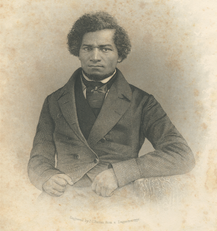 Frederick Douglass. circa 1850.  Image: Collection of the Smithsonian National Museum of African American History and Culture