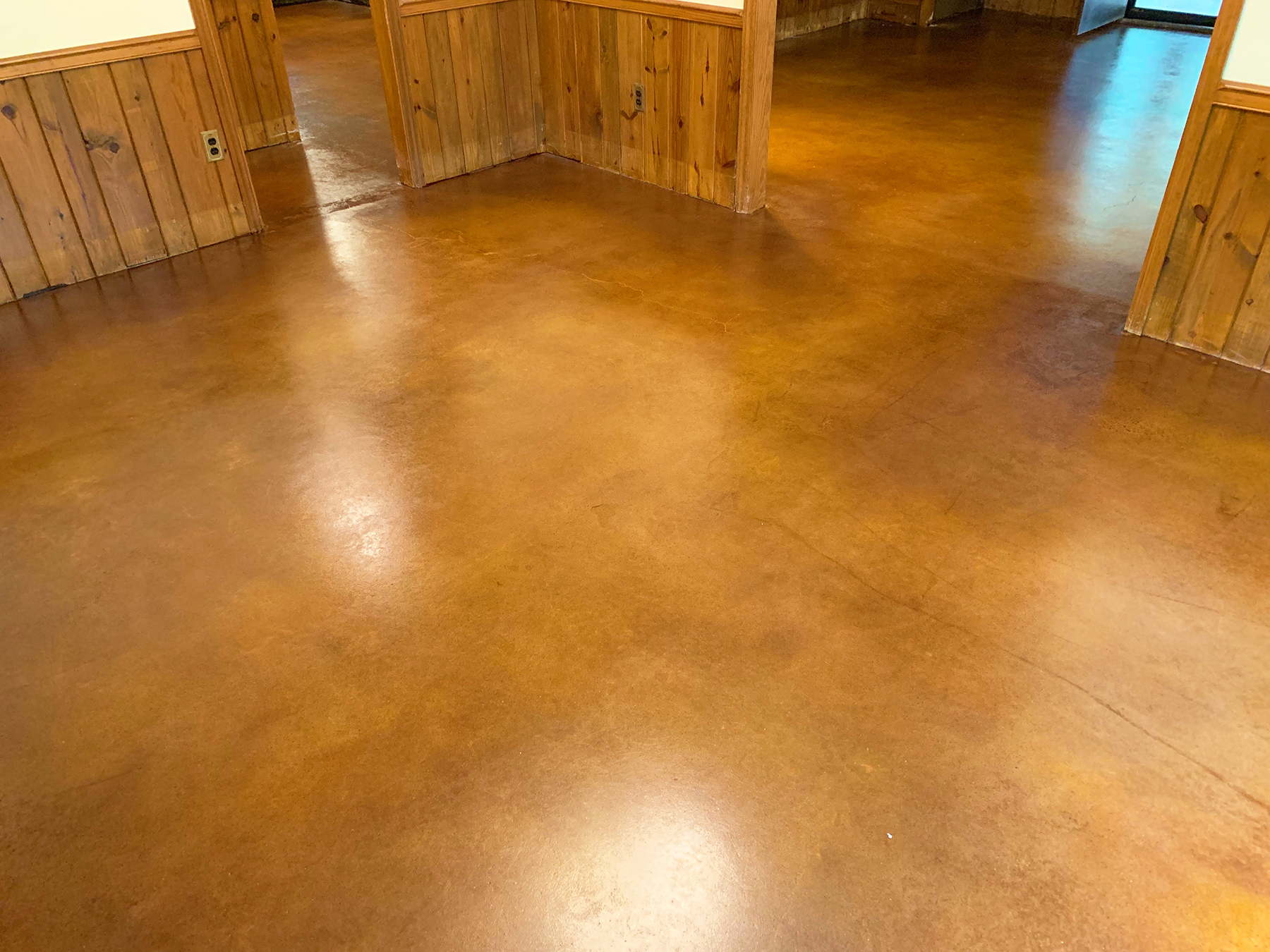 Stained Concrete Atlanta - Concrete Staining — Grindkings
