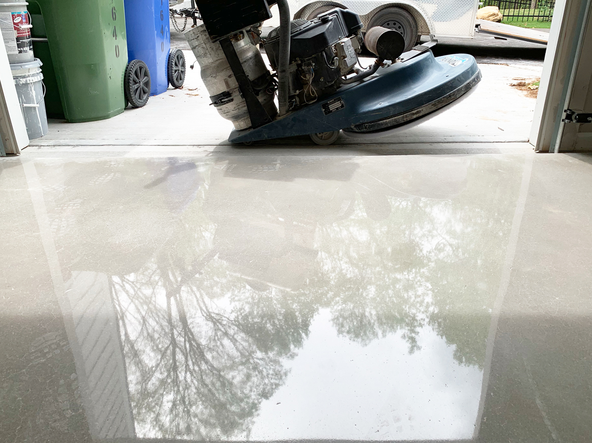 Polished Concrete Vs Grind And Seal