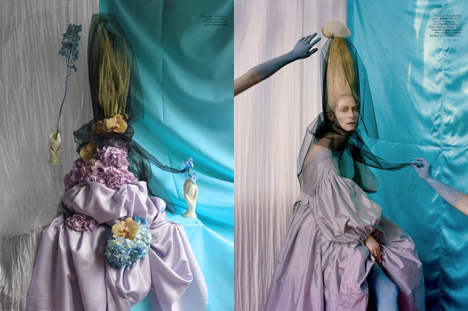 Tilda Swinton for W Magazine