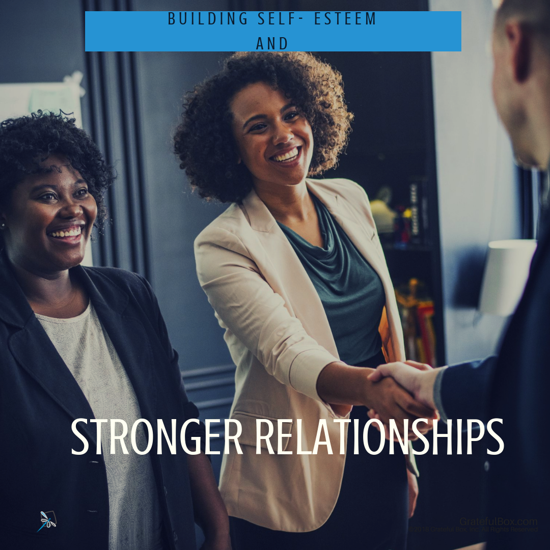 Lesson 6 -Building Self-Esteem and Stronger Relationships - You are on your way to being the amazing person you always wanted to be. Learn how to be confident and develop life long relationships.