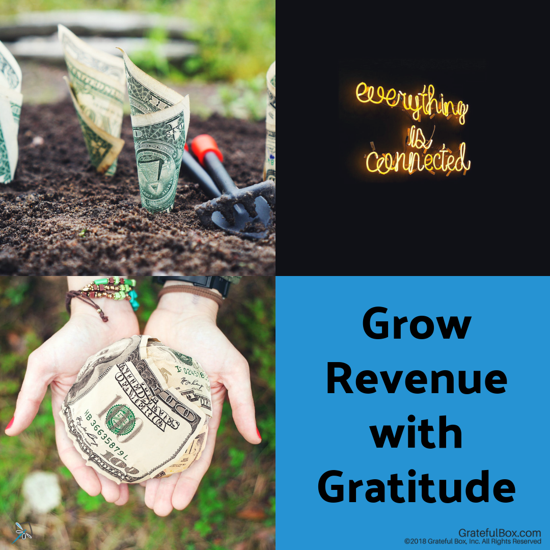 Lesson 8- Growing Revenue with Gratitude - Would you like to DOUBLE your income in 1 year? We will teach you and provide the road map to Grow Revenue with Gratitude.