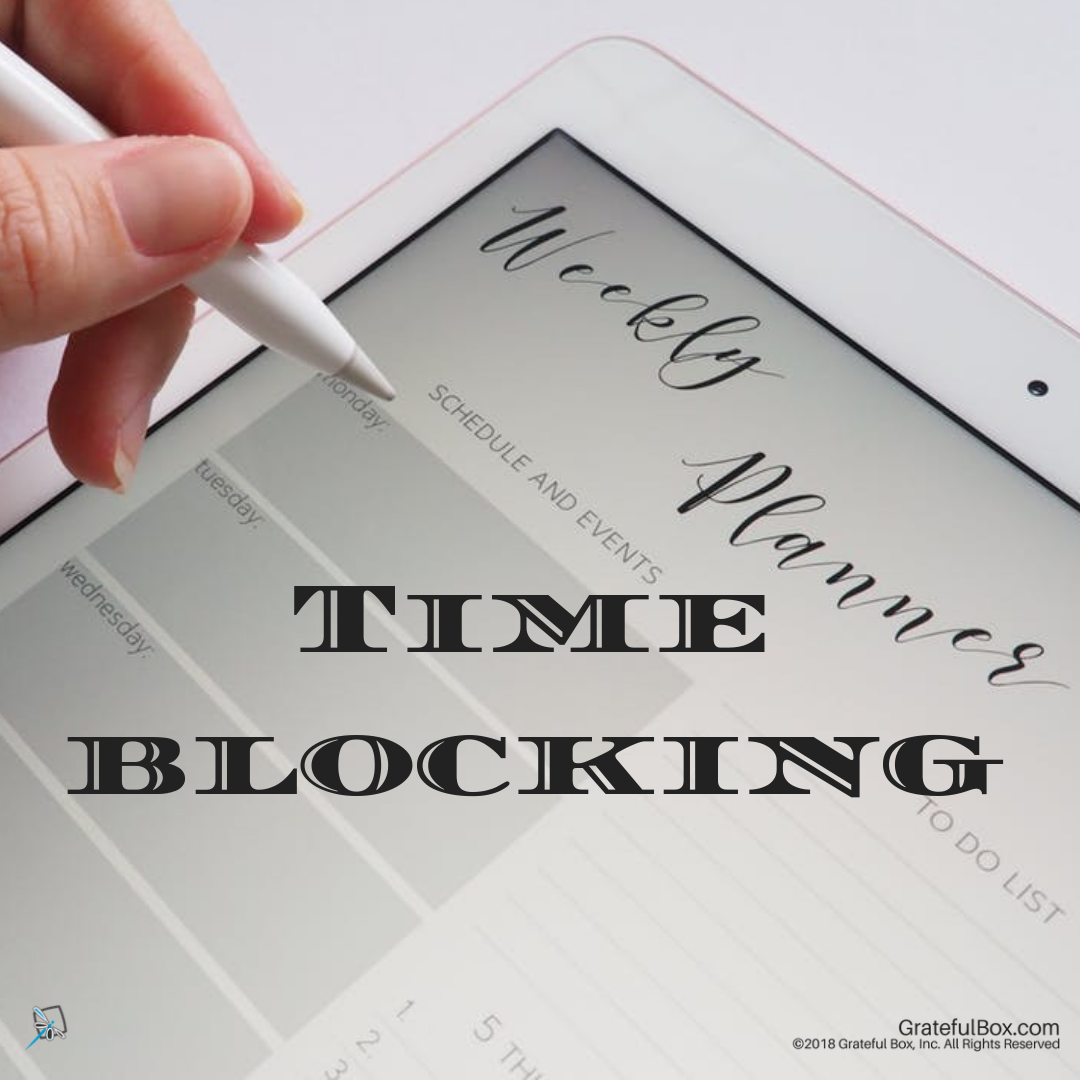 Lesson 10-Part 1 - Time Blocking - Take control of your time with time blocking. Achieve more with less effort.