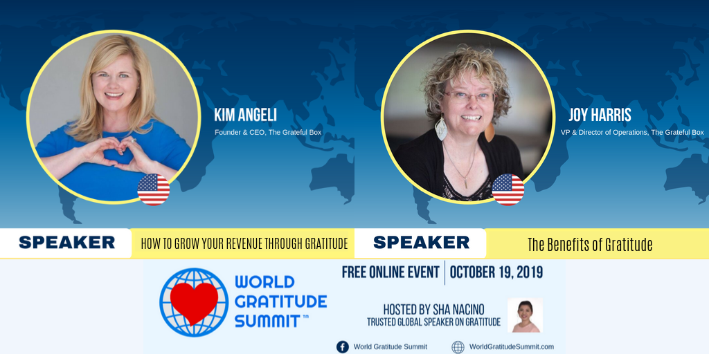 What an honor it is to have both Joy  and  Kim as speakers along side such greats as Jack Canfield?!?