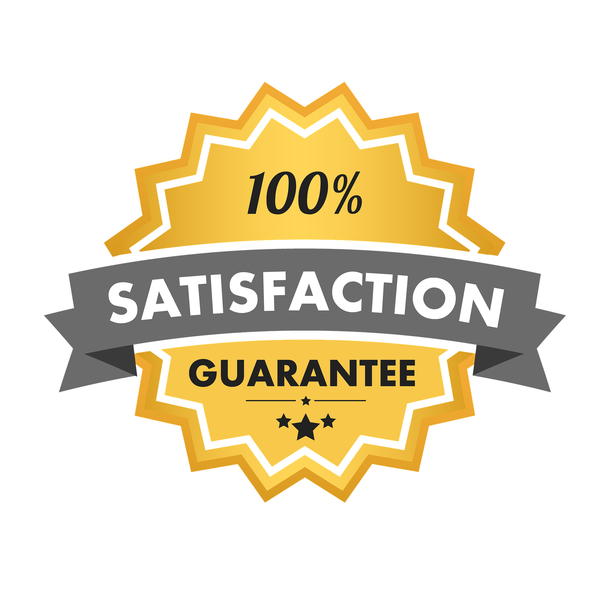 "Satisfaction Guarantee - ""A guarantee is only as good as the company that stands behind it."" We back up our work 100%. We want 100% satisfaction! We will let you know up front what we can and cannot promise. If for any reason we need to correct anything that was promised or expected, we will promptly return with no hassles. We can make such a bold guarantee because, quite frankly, we know what we are doing and do it well."