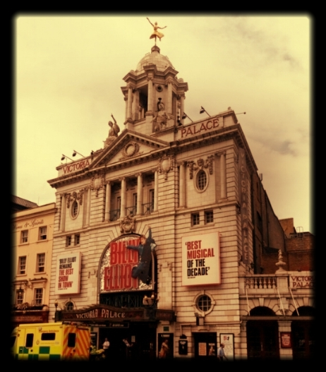 The Victoria Palace Theatre has no step-free access. Photo by Frank Matcham