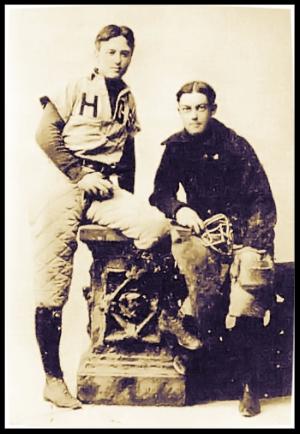 Charles Ives captained his high school baseball team. Photo: Hopkins School