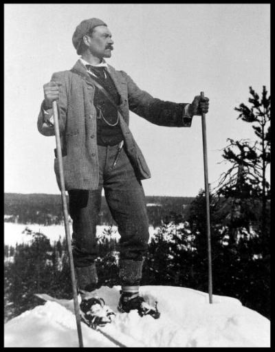 Jean Sibelius was a keen skiier