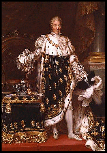 Charles X of France agreed to Rossini's generous pension