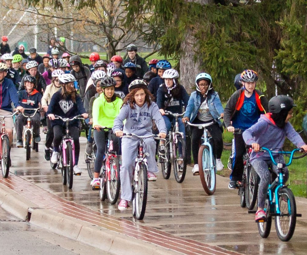 Photo courtesy of Safe Routes to Schools