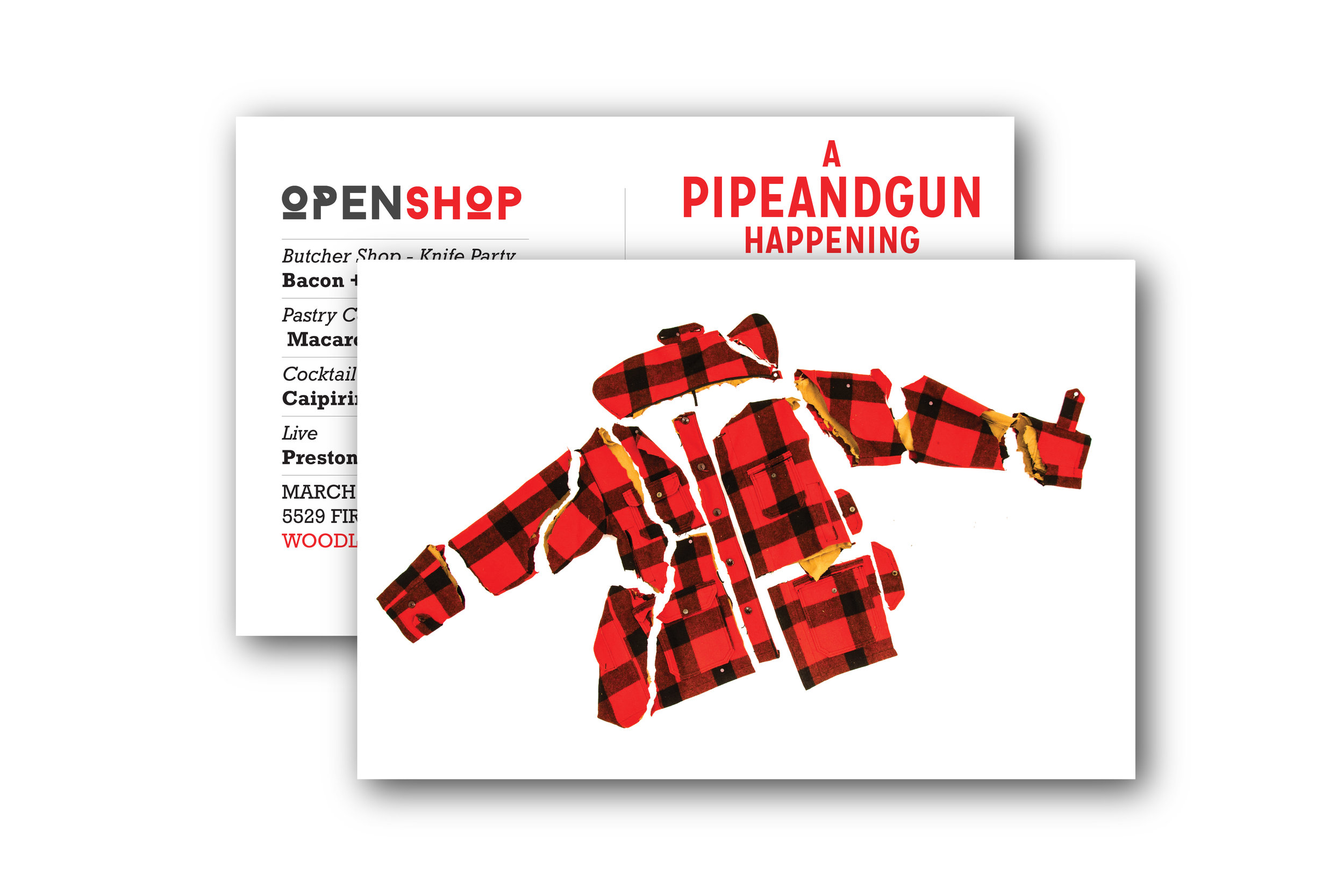 40 Pieces of Woolrich Invite
