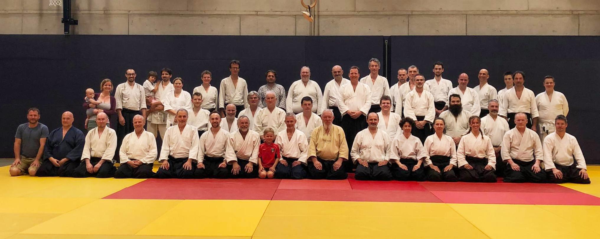 Lehrgangsgruppenfoto 2019 (c) Aikido Graz