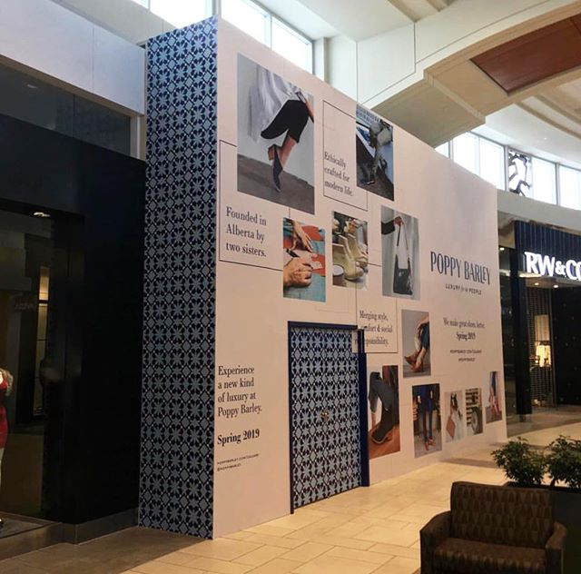 POPPY BARLEY || A new @poppybarley coming to @cfmarketmall. We're so happy to be a part of this project! . . . Photo By: @jef3builder #macleodbuilders #macleodbuilt #macleodandproud #poppybarley #poppybarleycalgary #marketmall #cfmarketmall #newstore #storerenovation