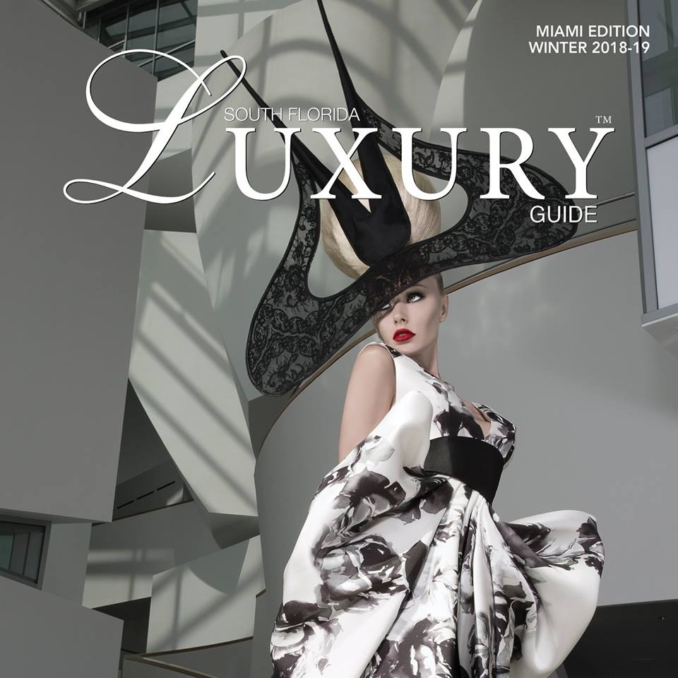 <b>SOUTH FLORIDA LUXURY GUIDE</b><br>WINTER 2018-2019<br>P.32