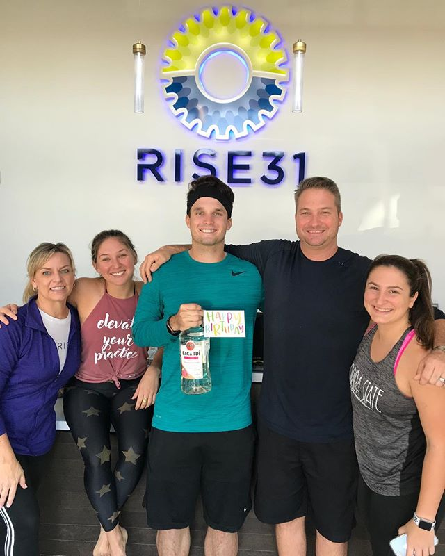 🚨 We have another rise birthday alert 🎉🥳 we want to wish @alex_demchak38 a very happy birthday, health and happiness 🤗  Thank you for your contributions to the rise community 🌅 now go and have a rockstar day 🤩 . . . . . #rise31#risevibes#cycle#spin#sweat#fitfam#fitness#exercise#studio#boutique#fun#happy#challenge#motivate#riseup#energy#health#love#community#squad#squadgoals#southflorida#delraybeach#bocaraton#boyntonbeach#fortlauderdale#miami#delraymarketplace#instafit