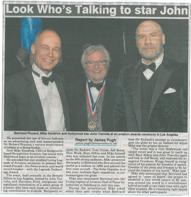 Shropshire Star - Mike, Bertrand and John Travolta .jpg