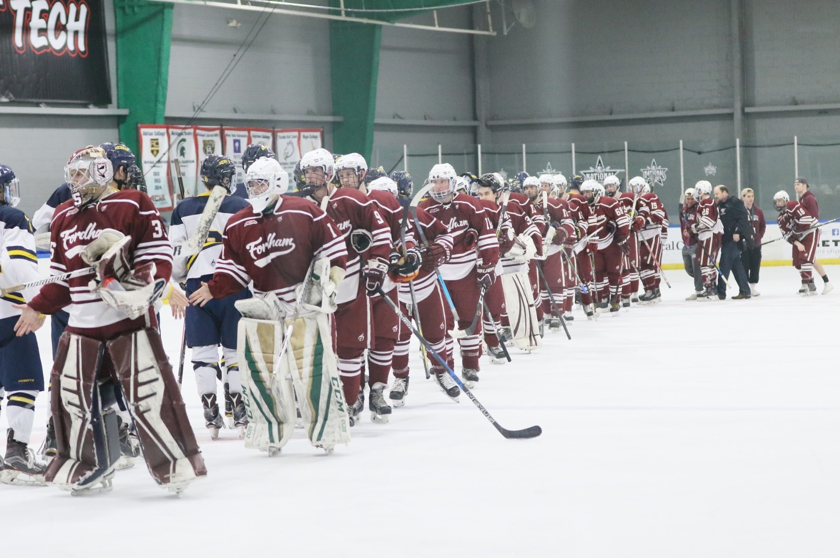 The Fordham Club Hockey Team 2018-2019