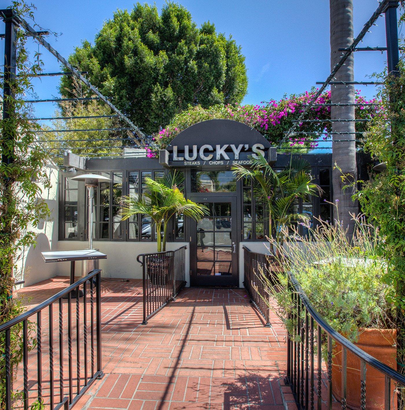 Nearby Lucky's Restaurant