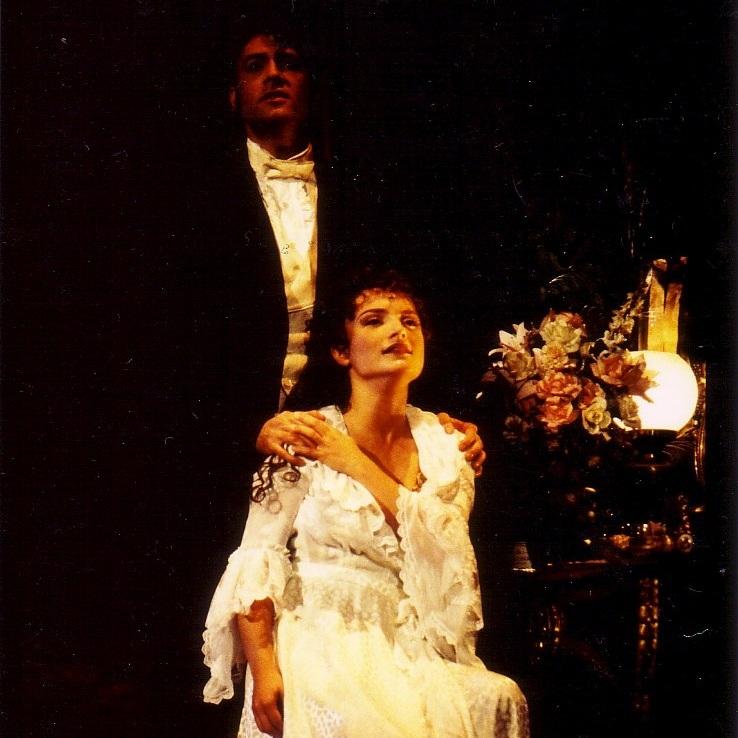 Nicky as Christine in Phantom