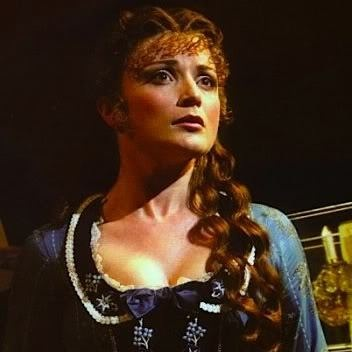 Nicky in The Phantom of the Opera playing Christine
