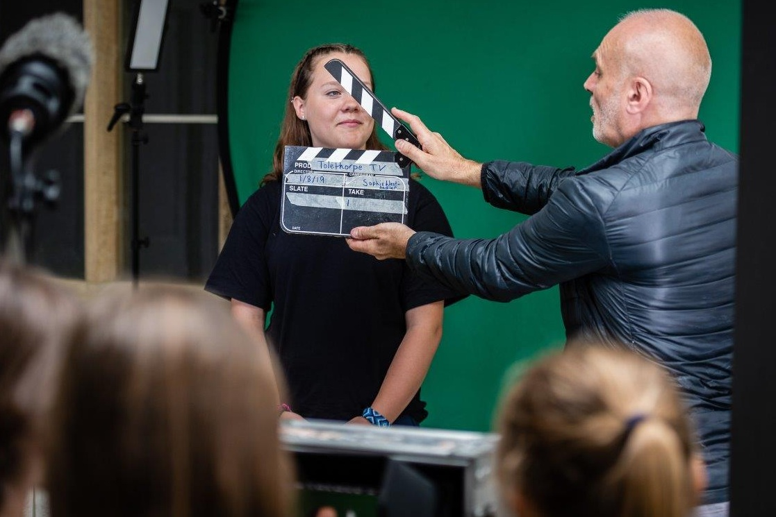 TV & FILM WORKSHOP WITH ANDY HARLOW