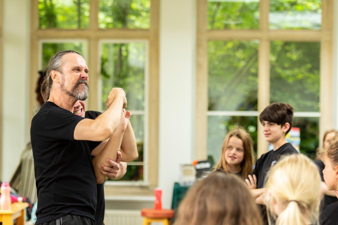 STAGE COMBAT - WITH PHILIP D'ORLEANS