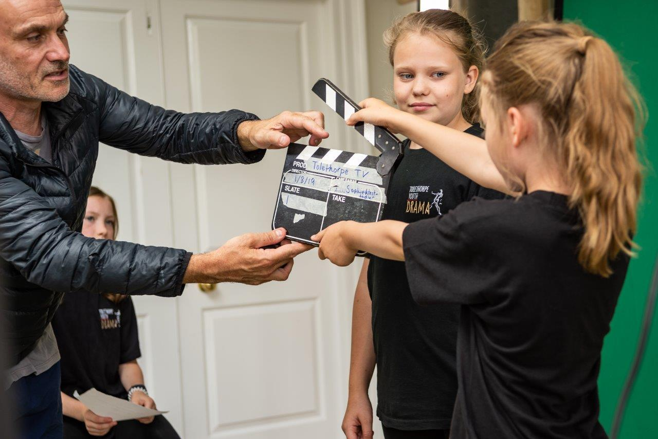 TV & FILM MAKING WORKSHOP WITH ANDY HARLOW