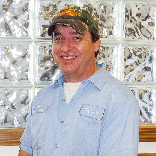 Bobby DeGeareMACHINE SPECIALIST - Bobby plays an important role in the production of all True-Surface® parts and whole goods. He programs and runs the high-tech machines that manufacture each part. Bobby is also trained to check all True-Surface® machined parts for quality assurance.