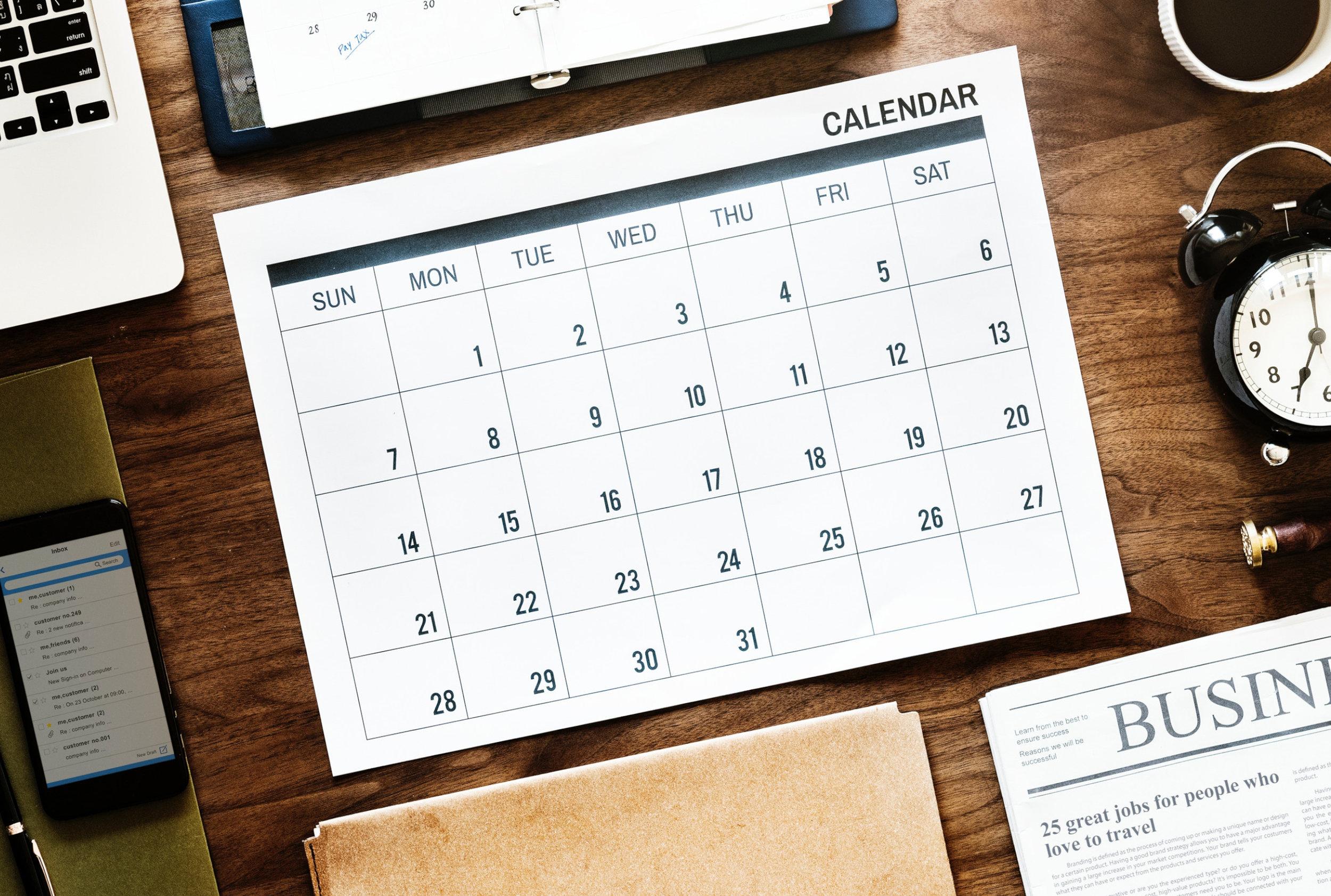 Onsite Demo - Schedule→