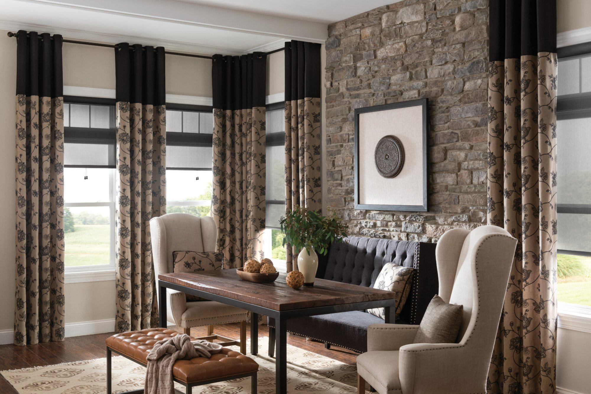 25% off - Retail on all Graber Drapes and Fabrics till August 31call J and J Blind 479 646 6339