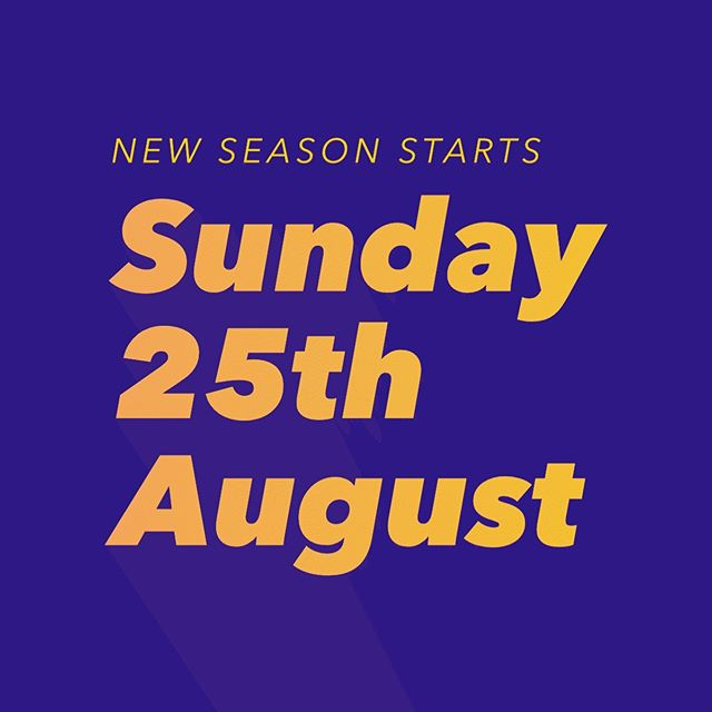 GBA New season starts Sunday 25th August 2019. Come try badminton 🏸 - free on your first visit!