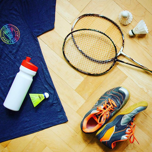 Get your kit ready, GBA New season starts on Sunday 25th August 2019! #gaybadminton #gaybadmintonclub #amsterdam