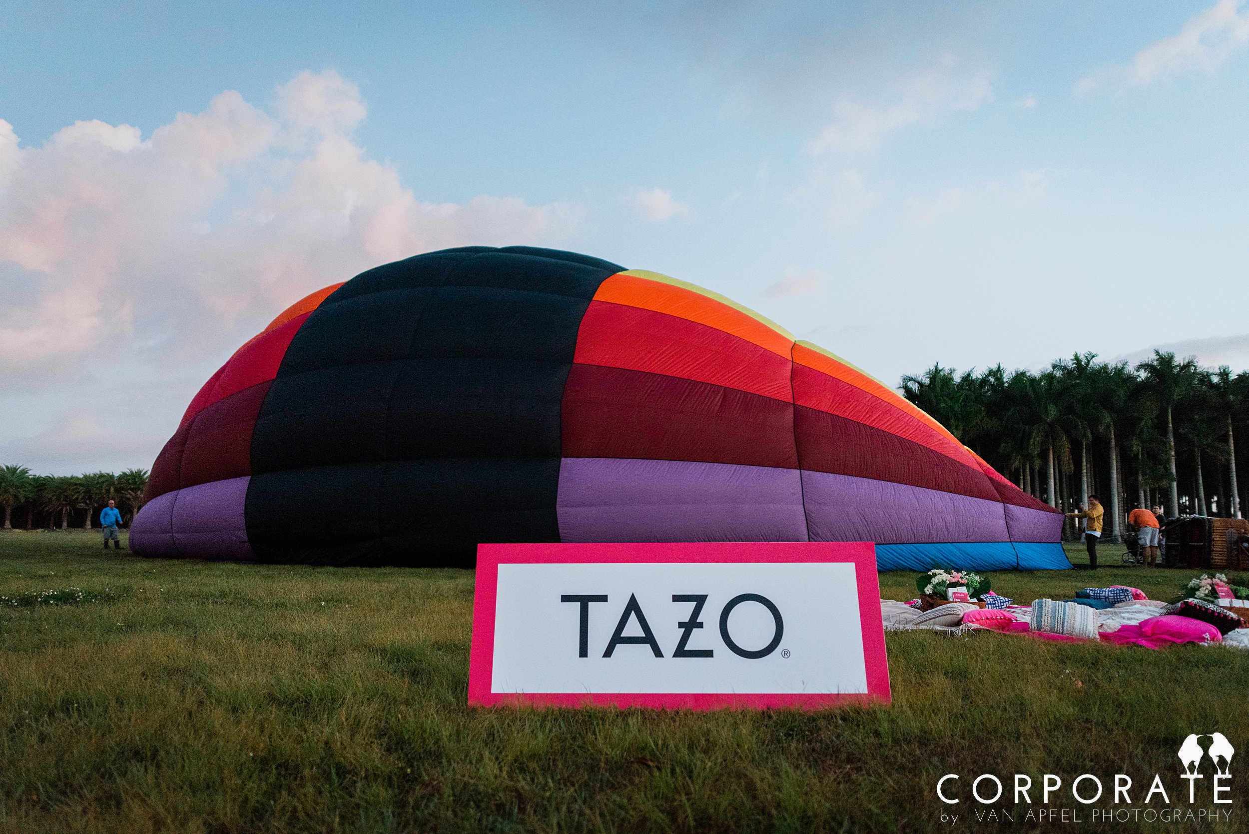 Miami Corporate Experience Photographer Tazo Tea Hot Air Balloon Influencers_0001.jpg