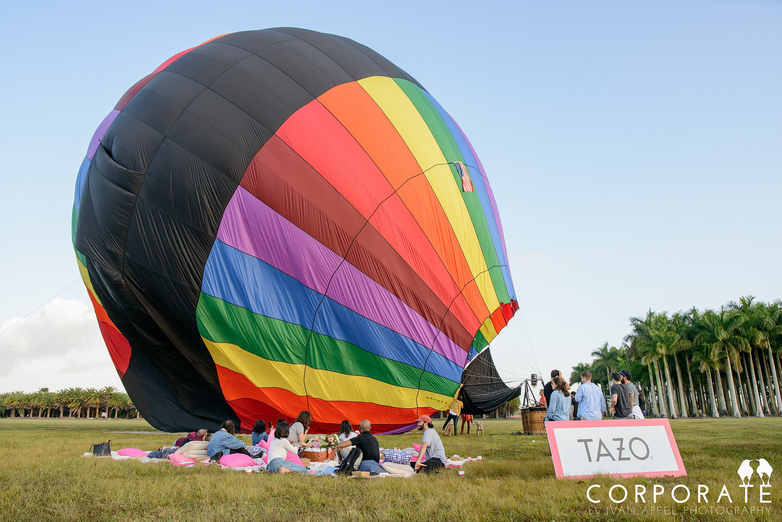 Miami Corporate Experience Photographer Tazo Tea Hot Air Balloon Influencers_0003.jpg