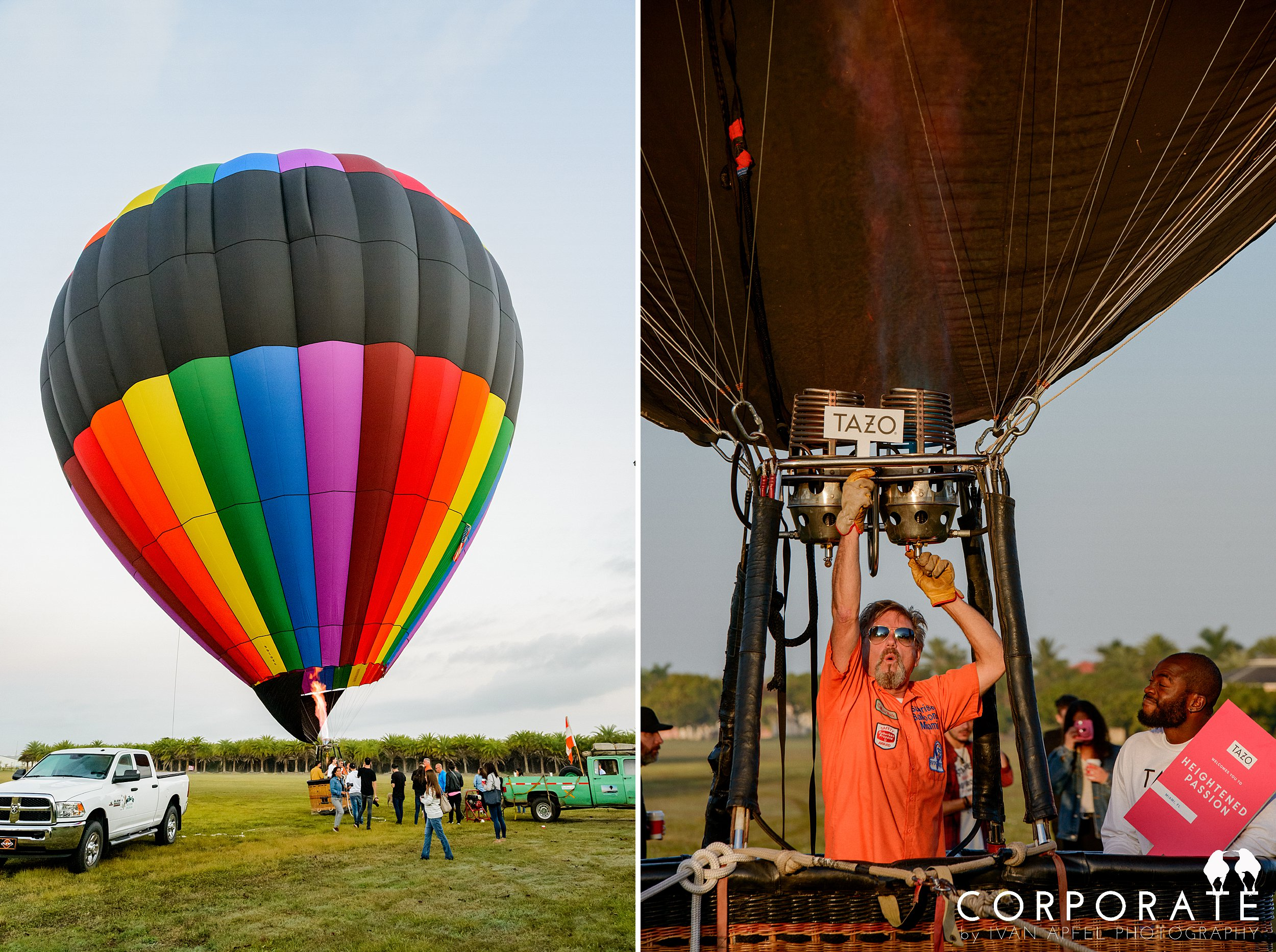 Miami Corporate Experience Photographer Tazo Tea Hot Air Balloon Influencers_0007.jpg