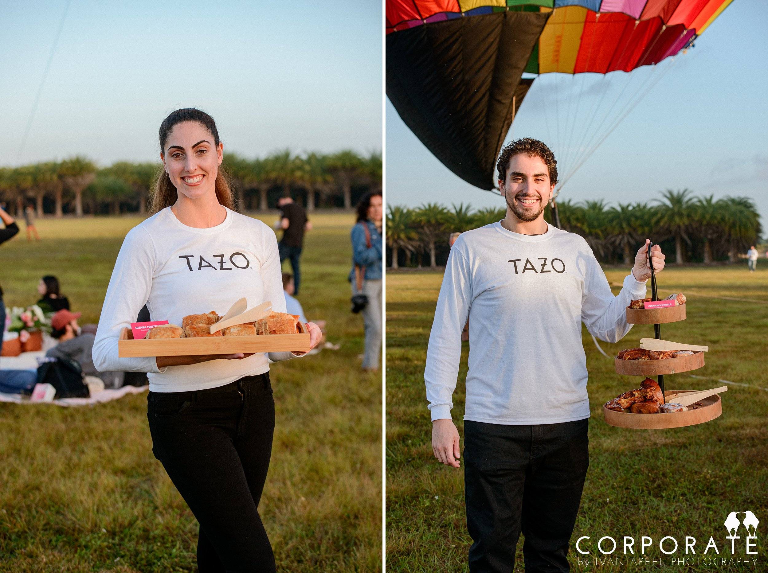Miami Corporate Experience Photographer Tazo Tea Hot Air Balloon Influencers_0008.jpg